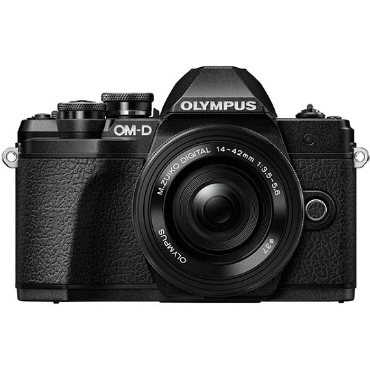 Olympus OM-D E-M10 Mark III KIT Cámara Mirrorless Micro 4/3 con Lentes 14-42mm EZ + 40-150mm R (BLACK) - Image 2