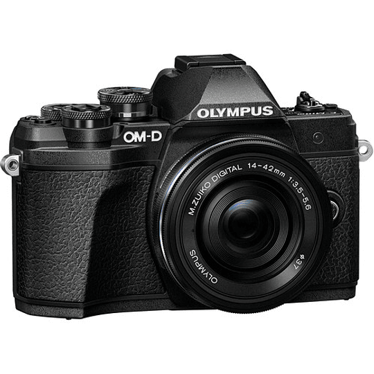 Olympus OM-D E-M10 Mark III KIT Cámara Mirrorless Micro 4/3 con Lentes 14-42mm EZ + 40-150mm R (BLACK) - Image 3