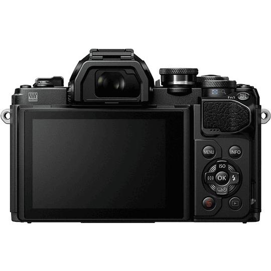 Olympus OM-D E-M10 Mark III KIT Cámara Mirrorless Micro 4/3 con Lentes 14-42mm EZ + 40-150mm R (BLACK) - Image 4