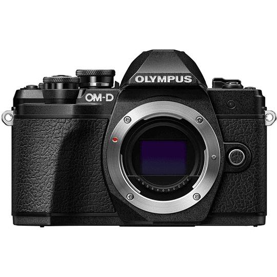 Olympus OM-D E-M10 Mark III KIT Cámara Mirrorless Micro 4/3 con Lentes 14-42mm EZ + 40-150mm R (BLACK) - Image 6
