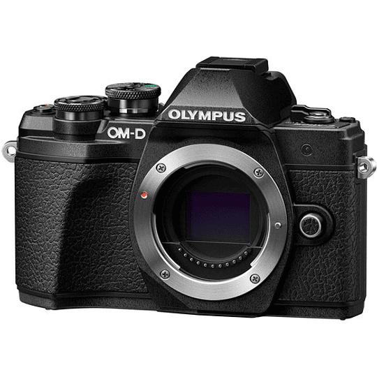 Olympus OM-D E-M10 Mark III KIT Cámara Mirrorless Micro 4/3 con Lentes 14-42mm EZ + 40-150mm R (BLACK) - Image 8