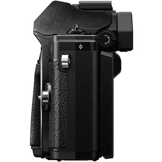 Olympus OM-D E-M10 Mark III KIT Cámara Mirrorless Micro 4/3 con Lentes 14-42mm EZ + 40-150mm R (BLACK) - Image 9