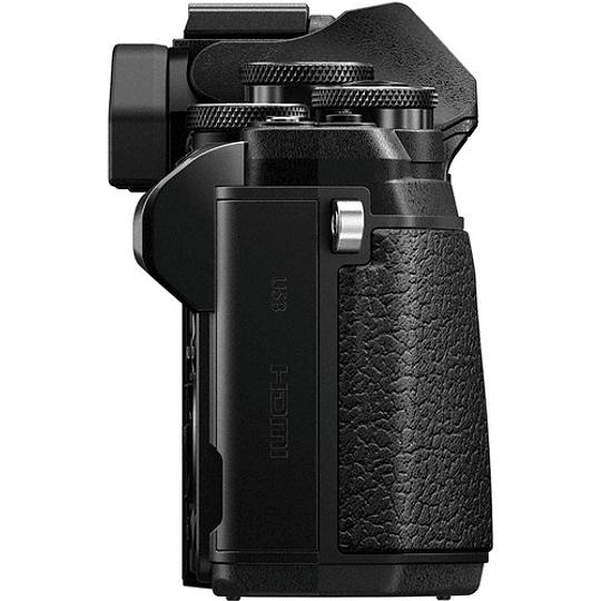 Olympus OM-D E-M10 Mark III KIT Cámara Mirrorless Micro 4/3 con Lentes 14-42mm EZ + 40-150mm R (BLACK) - Image 10