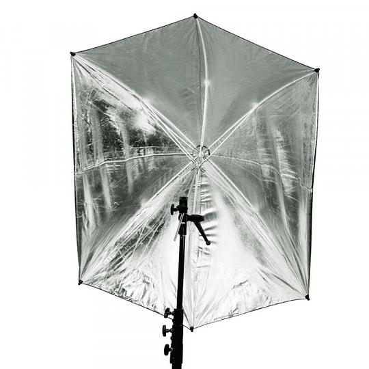 Photoflex UM-ADH30 Sombrilla Plateada de 76 cm. (30)