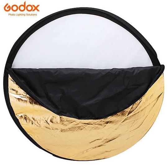 Godox RFT-06-60 Disco Reflector Plegable 5 en 1 de 60cm  - Image 1