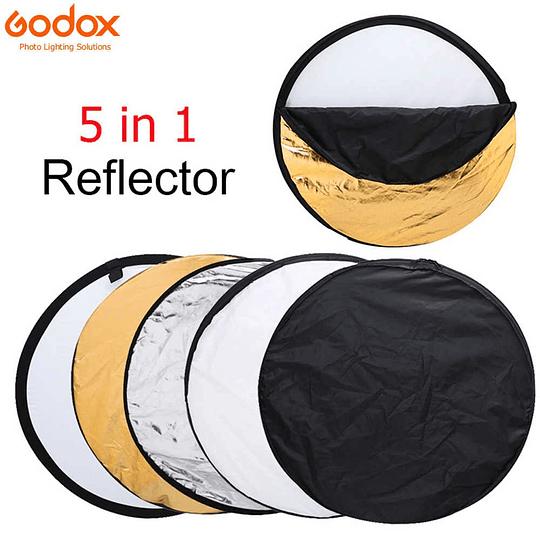 Godox RFT-06-60 Disco Reflector Plegable 5 en 1 de 60cm  - Image 4
