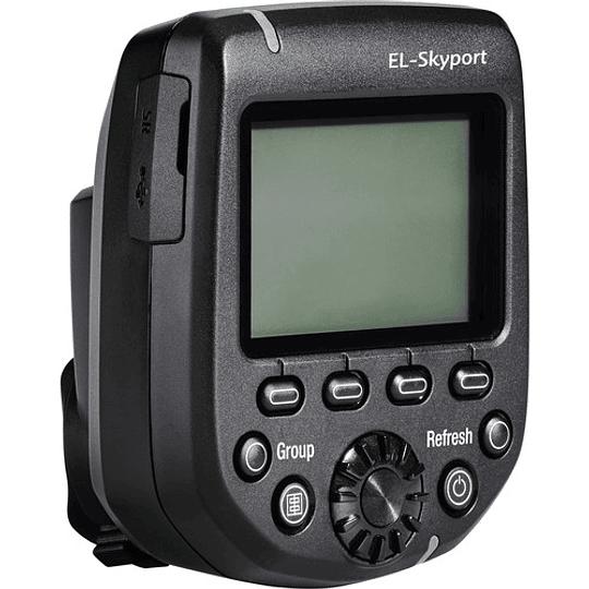 Elinchrom EL19366 EL-Skyport Transmitter Plus HS Para Nikon - Image 3