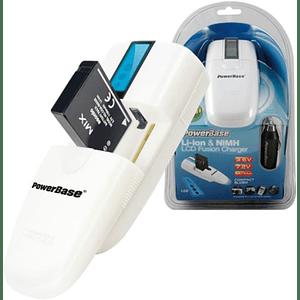 POWERBASE LCD C735 Multicargador de Pilas y Baterías