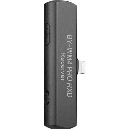 BOYA BY-WM4 PRO-K3 Digital Wireless Kit Micrófono Omni Lavalier con Sistema Lightning iOS (2.4 GHz) - Image 2