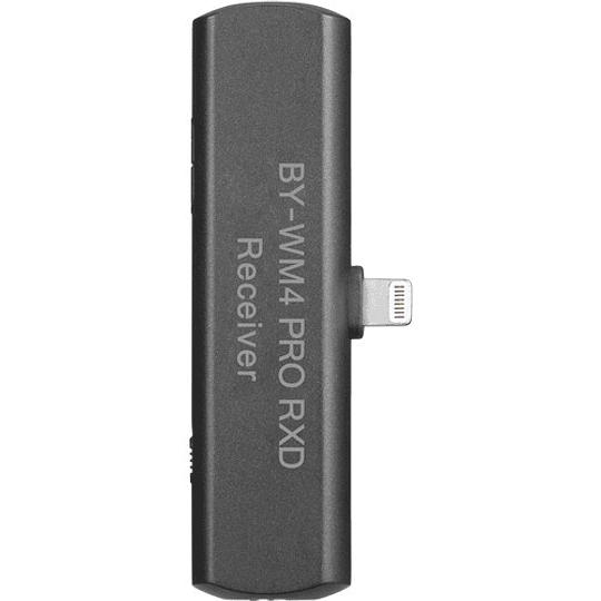 BOYA BY-WM4 PRO-K3 Digital Wireless Kit Micrófono Omni Lavalier con Sistema Lightning iOS (2.4 GHz) - Image 3
