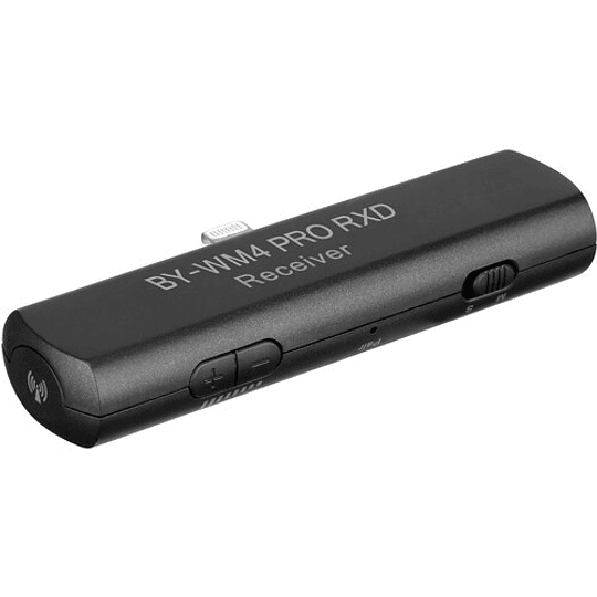 BOYA BY-WM4 PRO-K3 Digital Wireless Kit Micrófono Omni Lavalier con Sistema Lightning iOS (2.4 GHz) - Image 5
