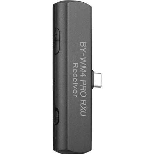 BOYA BY-WM4 PRO-K5 Digital Wireless Kit Micrófono Omni Lavalier con Sistema USB-C (2.4 GHz) - Image 2
