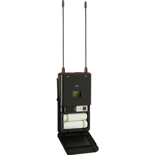 Shure FP25/SM58 Sistema de Micrófono de Mano Cardioide Inalámbrico para Montaje en Cámara (G5: 494 to 518 MHz) - Image 4