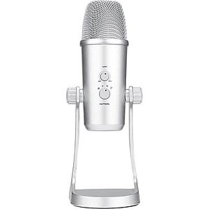 BOYA BY-PM700SP Micrófono de Condensador USB Multipatrón (iOS/Android, Mac/Windows)