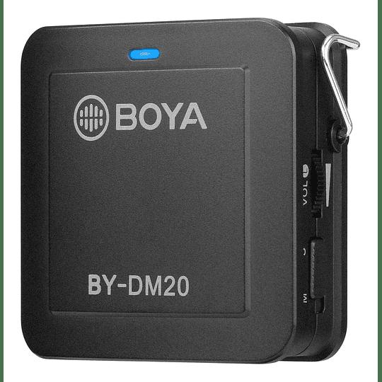 BOYA BY-DM20 Kit de 2 Micrófonos Lavalier para Smartphone - Image 2