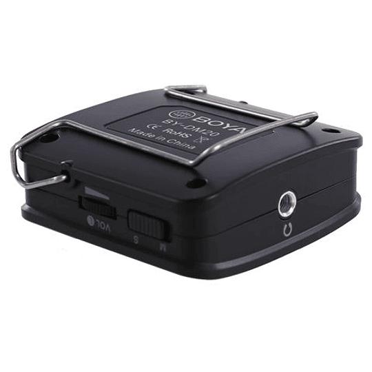 BOYA BY-DM20 Kit de 2 Micrófonos Lavalier para Smartphone - Image 3