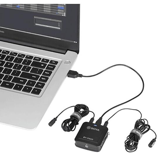 BOYA BY-DM20 Kit de 2 Micrófonos Lavalier para Smartphone - Image 6
