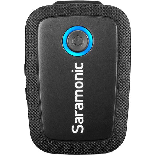 Saramonic Blink 500 B1 Sistema de micrófono inalámbrico Omni Lavalier para montaje en cámara digital (2.4 GHz) - Image 2