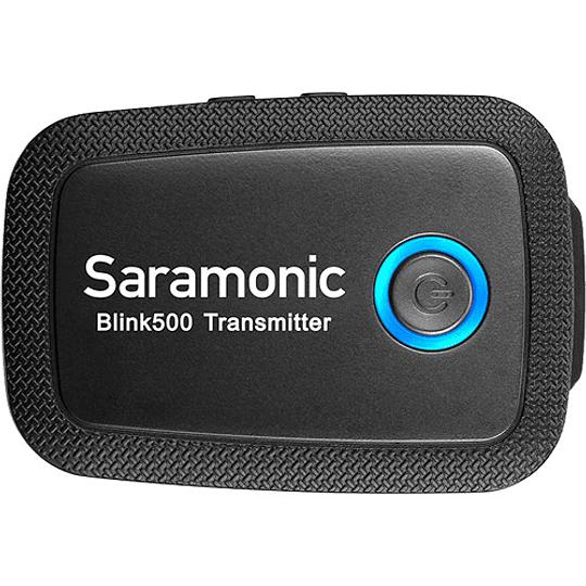 Saramonic Blink 500 B1 Sistema de micrófono inalámbrico Omni Lavalier para montaje en cámara digital (2.4 GHz) - Image 4