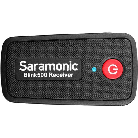 Saramonic Blink 500 B1 Sistema de micrófono inalámbrico Omni Lavalier para montaje en cámara digital (2.4 GHz) - Image 5