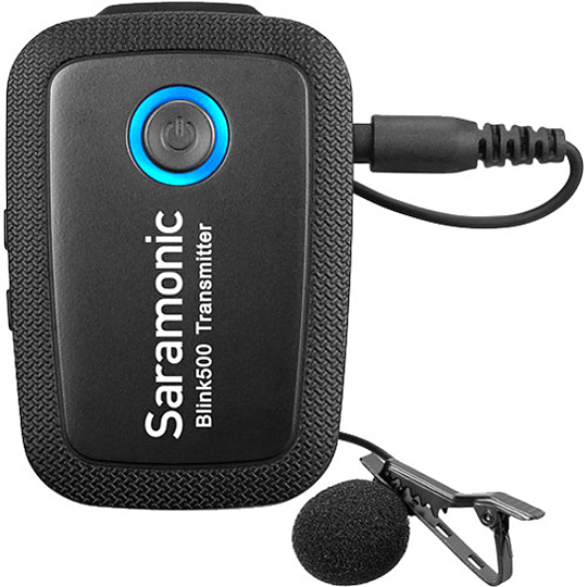 Saramonic Blink 500 B1 Sistema de micrófono inalámbrico Omni Lavalier para montaje en cámara digital (2.4 GHz) - Image 7