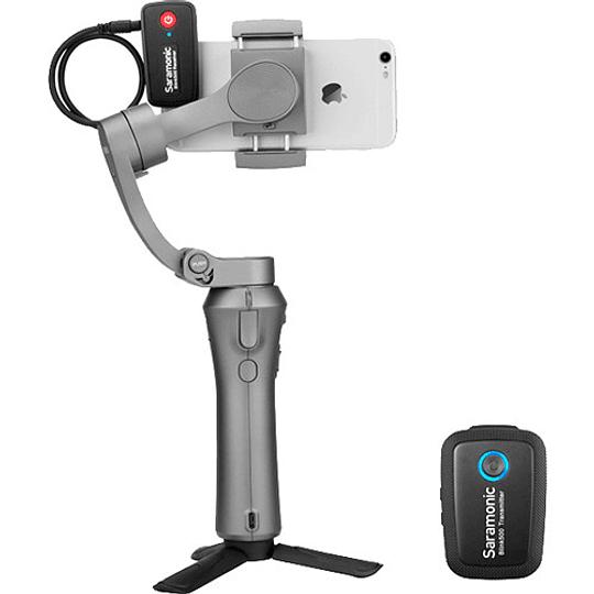 Saramonic Blink 500 B1 Sistema de micrófono inalámbrico Omni Lavalier para montaje en cámara digital (2.4 GHz) - Image 8