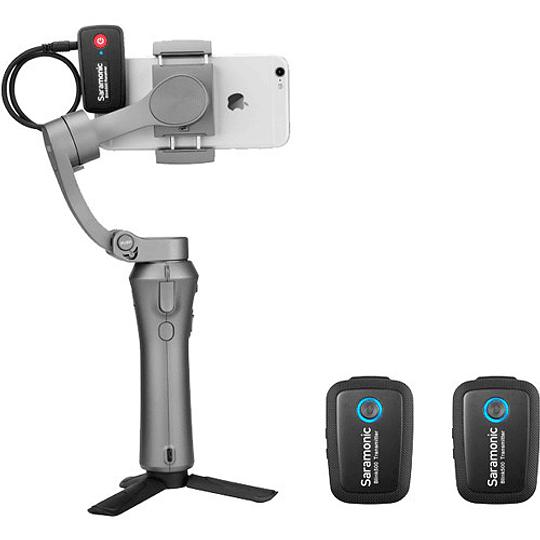Saramonic Blink 500 B2 2-Person Digital Camera-Mount Wireless Omni Lavalier Microphone System (2.4 GHz) - Image 8