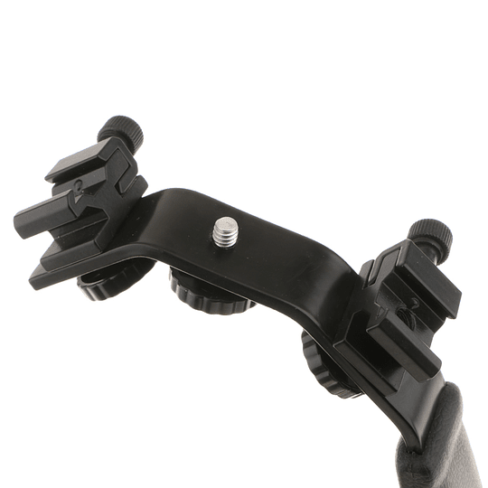 POWERWIN PW-K283 Bracket en L Video Grip con Doble Zapata - Image 6