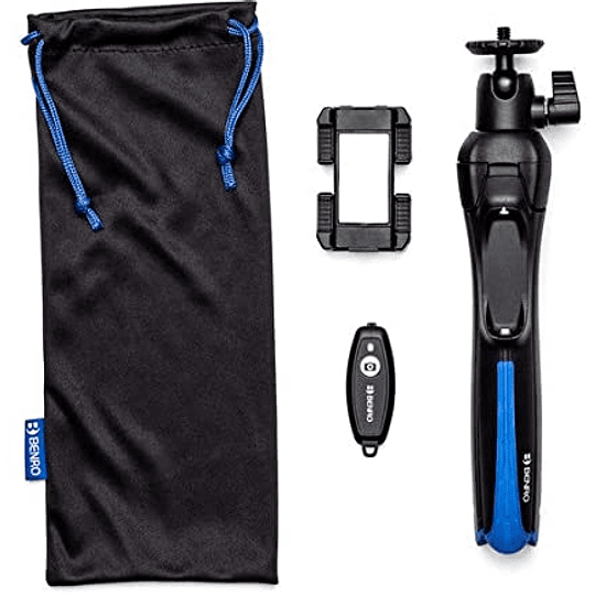 Benro BK15 Trípode y Selfie Stick para Smartphones - Image 4