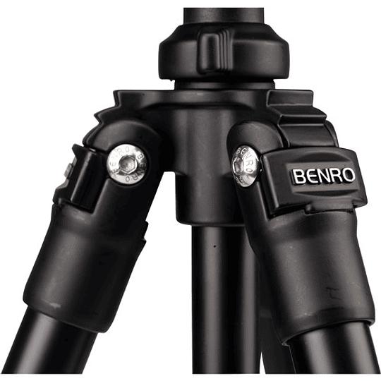 BENRO TSL08AS2CSH Kit SLIM Trípode de Aluminio y Cabezal de Video - Image 7