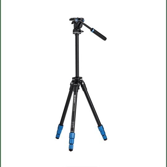 BENRO TSL08AS2CSH Kit SLIM Trípode de Aluminio y Cabezal de Video - Image 2