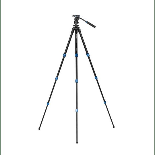 BENRO TSL08AS2CSH Kit SLIM Trípode de Aluminio y Cabezal de Video - Image 3