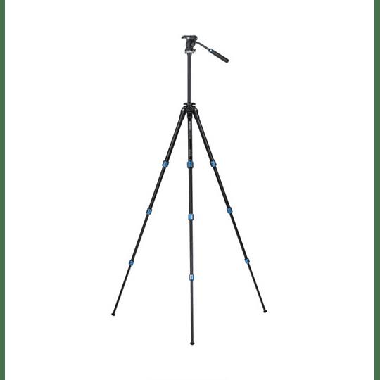 BENRO TSL08AS2CSH Kit SLIM Trípode de Aluminio y Cabezal de Video - Image 4