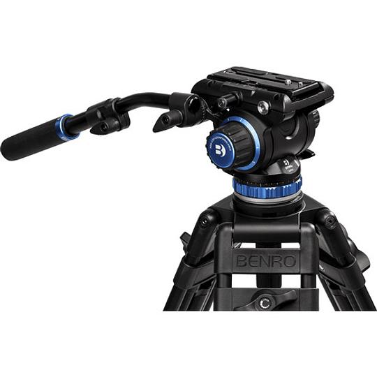 BENRO A573TBS6PRO Kit Trípode Profesional de Video  - Image 6
