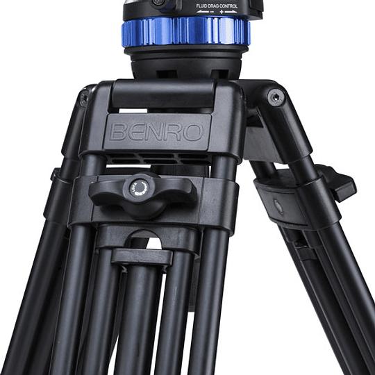 BENRO A573TBS6PRO Kit Trípode Profesional de Video  - Image 7