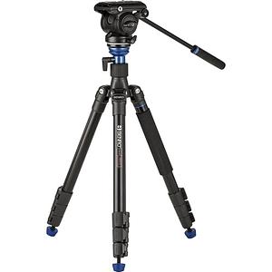 BENRO A2883FS4PRO Kit Trípode + Monopie de Video Fluido