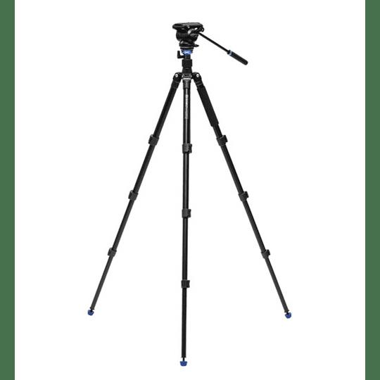 BENRO A2883FS4PRO Kit Trípode + Monopie de Video Fluido - Image 2