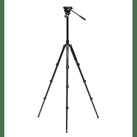 BENRO A2883FS4PRO Kit Trípode + Monopie de Video Fluido - Image 3
