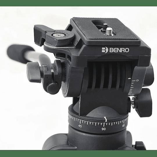 BENRO T980EX Kit Trípode Semi-Profesional de Video - Image 5