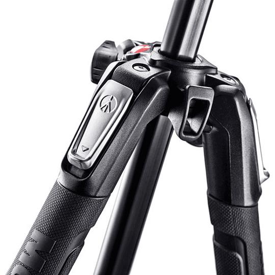 Manfrotto MK190X3-3W1 Kit de Trípode Aluminio y Cabezal Fotográfico - Image 2