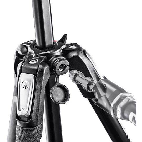 Manfrotto MK190X3-3W1 Kit de Trípode Aluminio y Cabezal Fotográfico - Image 4