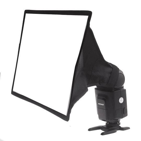 POWERWIN PW-K187 Difusor Flash Softbox Plegable 20x30cm Universal - Image 4
