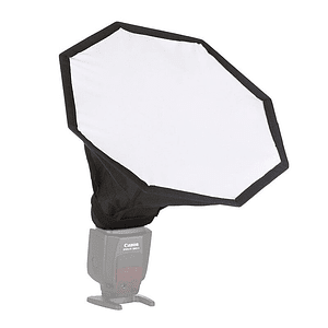 POWERWIN PW-K189 SOFTBOX OCTAGONAL DE 30CM