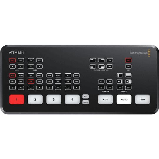 Blackmagic Design ATEM Mini HDMI Live Stream Switcher - Image 1