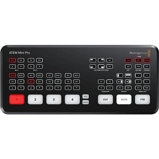 Blackmagic Design ATEM Mini Pro HDMI Live Stream Switcher - Image 1