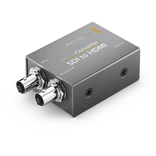 Blackmagic Design CONVCMIC/SH/WPSU Micro Converter SDI a HDMI con Power Supply - Image 2