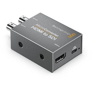 Blackmagic Design CONVCMIC/HS/WPSU Micro Converter HDMI a SDI con Power Supply