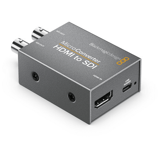 Blackmagic Design CONVCMIC/HS/WPSU Micro Converter HDMI a SDI con Power Supply - Image 1