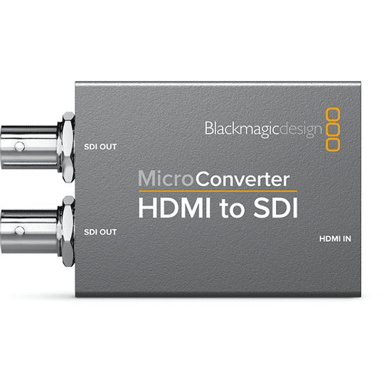 Blackmagic Design CONVCMIC/HS/WPSU Micro Converter HDMI a SDI con Power Supply - Image 3
