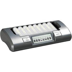 POWEREX MH-C800S Cargador Inteligente para 8 Pilas AA / AAA NiMH / NiCD